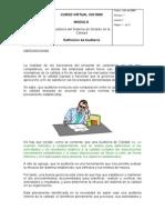 Tema 2.Definicion de Auditoria