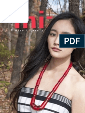 The MIZO (Mizo Literary Journal, USA) Vol  II No  1
