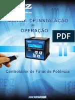 Manual Controlador de Fator de Potência CFP 92 Renz