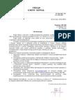 List intencyjny - Urząd Gminy Kowal