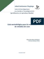 Munoz Manrrubio--Guia Metodologica Para Redaccion de Estudios de Caso