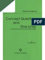Concept Questions Timelines