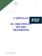 APUNTES de REDES. Cap 4. Circuitos en Estado Transiente 1 55099