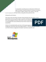 Apa Itu Microsoft Windows