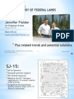 MT Federal Land Study Sup Info Sen. Fielder Feb 2014