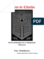 Cultos de Cthulhu - Fra. Tenebrous - Tradução Daath orion & Ashtarot Cognatus