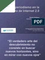 Hacer Periodismo en La Era Web 2.0