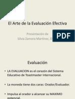 El Arte de la Evaluación Efectiva