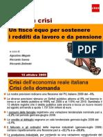 IRES Cgil - Slide - Salari in crisi - 15 ottobre 2009