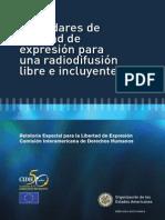 Estándares libertad de expresión y radiodifusión - CIDH.pdf
