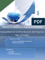 Distribución del ingreso Tabajo