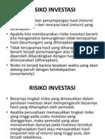 Manajemen Risiko Investasi