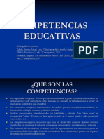 Competencias Educativas