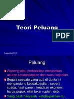 Kwt 5.Teori Peluang 2013