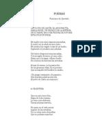 Quevedo, Francisco de - Poemas