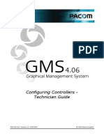 Configuring Controllers GMS 4.06 - Technician Guide