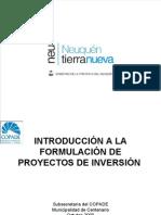 PRESENTACIÓN COPADE proyectos centenario