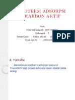 Isoterm Adsorpsi Carbon Aktif