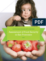 Assessment of Food Security in San Francisco