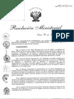 Carteras de Servicio de Salud 2014 Rm099_2014_minsa