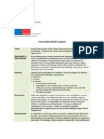 Ficha Indicador Clinico