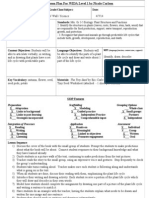siop lesson plan for wida level 1