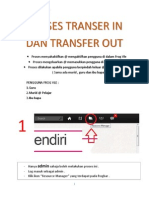 Proses Transer in Dan Transfer Out