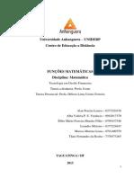 Modelo ATPS de Matematica