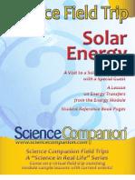 Solar Energy Field Trip