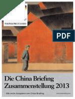 Die China Briefing Zusammenstellung 2013