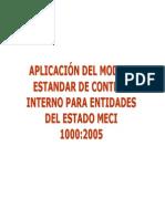 Aplicaciones Del Modelo Estandar de Control Interno