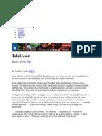 Asad the Muslim Observer