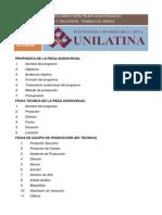 Formato ÚNICO piezas audiovisuales (Modelo Causa-Efecto)