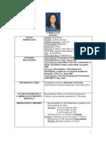 Resumen Curricular Abril 2014