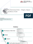 Euro Crisis and Role of G20