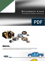 Byungwan Kang Portfolio