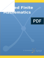 Applied Finite Mathematics V413HAV