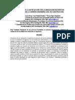 INNOVACIÓN PEDAGÓGICA EN AULA EN LA CARRERA INGENIERÍA CIVIL EN CONSTRUCCIÓN. UNA EVALUACIÓN DESDE LA SATISFACCIÓN CON LA EXPERIENCIA EN ESTUDIANTES. Jiménez, Piquimil y Rojas (2013)