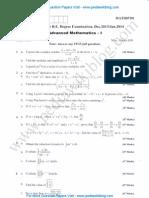 Advanced Mathematics 1 Jan 2014