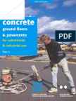 Concrete Ground Floors and Pavements