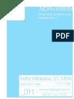 Personal Info Indra Wibisana Updated May 2013
