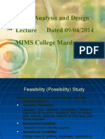 New5th Lec Feasibility Study, System Design, Input and Out Put Design and File Organization New (2)