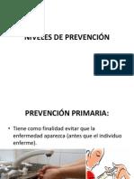 NIVELES DE PREVENCIÓN y historia de la salud (1)