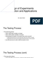 Design of Experiment OVerview