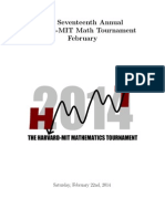 Program HMMTFebruary2014