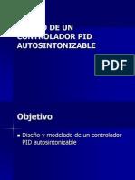 DISEÑO DE UN CONTROLADOR PID AUTOSINTONIZABLE