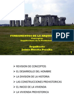 Arquitectura de La Prehistoria