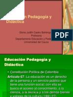 Educacion-Pedagogia-Didactica.ppt