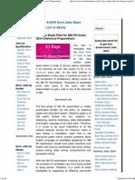 31 Days Study Plan for SBI PO Exam 2014 (Advance Preparation)