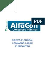 Alfacon Renan Tecnico Judiciario Do Tribunal Regional Eleitoral Tre Nocoes de Direito Eleitoral Leonardo Cacau 9o Enc 20140324224444